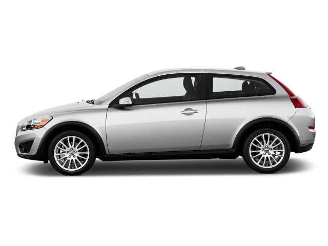 Side Exterior View - 2011 Volvo C30 2-door Coupe Auto