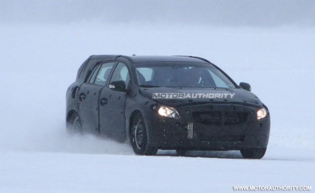 2011 Volvo V60 spy shots