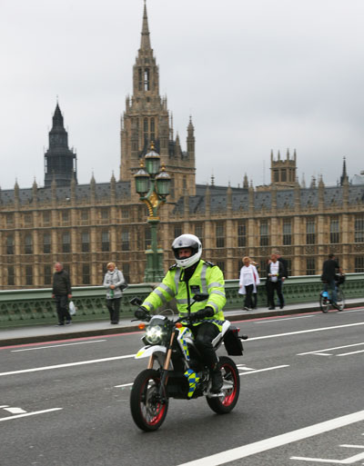 2011 Zero DS Electric Motorcycle Joins Met Police