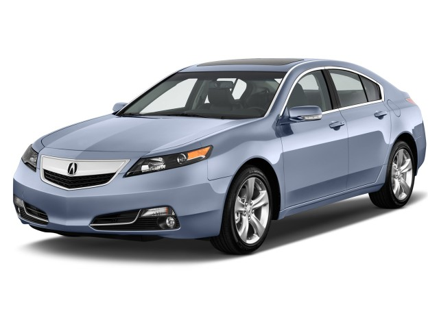2012 Acura TL 4-door Sedan 2WD Advance Angular Front Exterior View