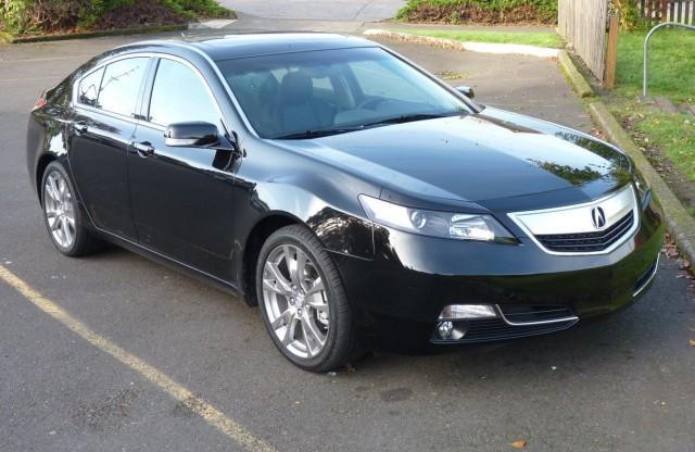 2012 Acura TL  -  Driven, Nov. 2011