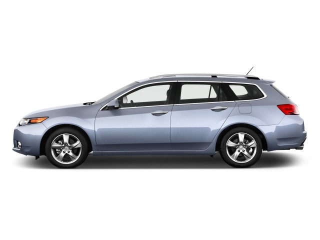 2012 Acura TSX 5dr Sport Wagon I4 Auto Tech Pkg Side Exterior View