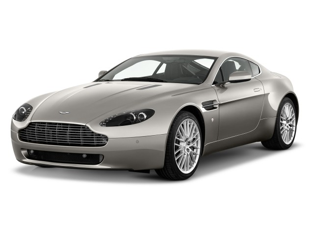 2012 Aston Martin V8 Vantage 2-door Coupe Sportshift Angular Front Exterior View