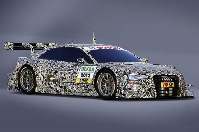 2012 Audi A5 DTM finalized for homologation