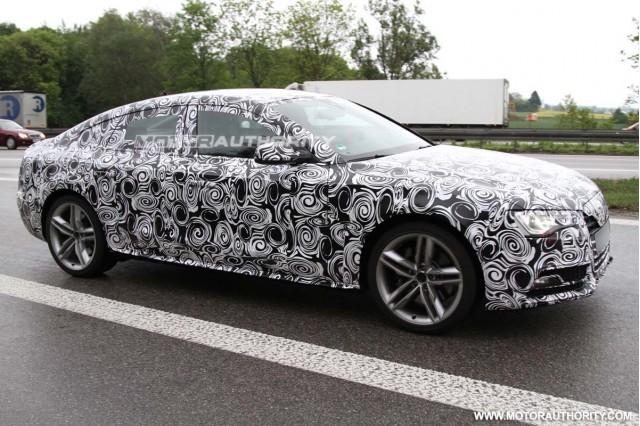 2012 Audi A5 Sportback spy shots