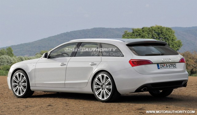 Rendered 2012 audi a6 avant for Lunghezza audi a6 avant 2016