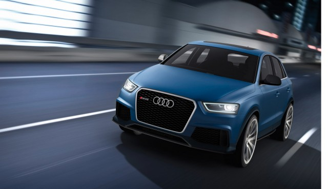 audi rs q3 sports crossover concept revealed. Black Bedroom Furniture Sets. Home Design Ideas