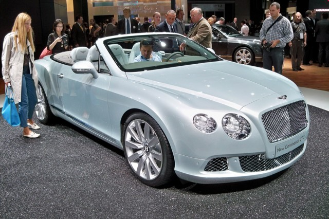 2012 Bentley Continental GTC live photos