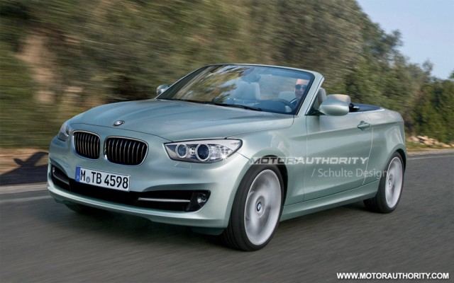 Rendered: 2012 BMW 1-Series Convertible