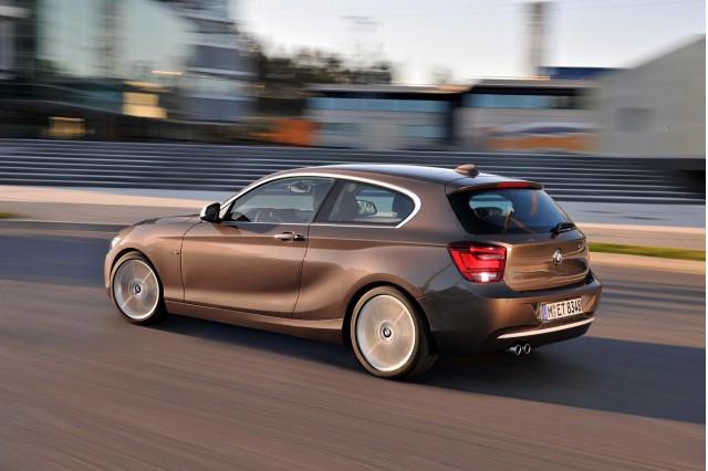 2012 BMW 1-Series Hatchback (three-door)