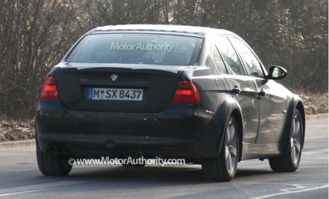 2012 bmw 3 series test mule spy shots january 008