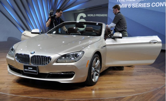 2012 BMW 6-Series Convertible live photos by Joe Nuxoll