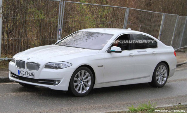 2012 BMW ActiveHybrid 5-Series spy shots