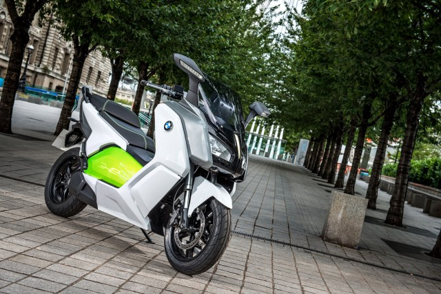 2012 BMW C evolution electric scooter prototype