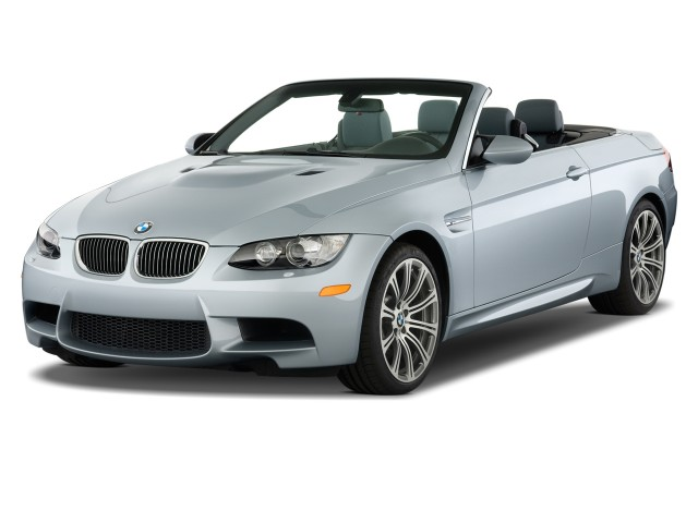2012 BMW M3 2-door Convertible Angular Front Exterior View