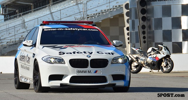2012 BMW M5 MotoGP official safety car