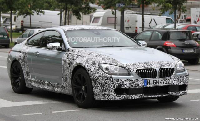 2012 BMW M6 spy shots