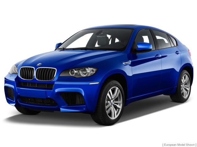 2012 BMW X6 M AWD 4-door Angular Front Exterior View