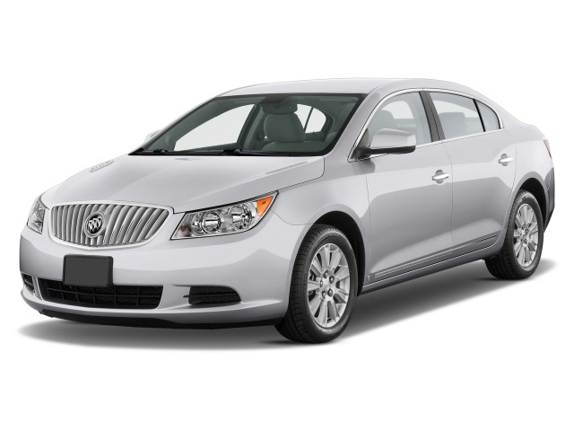 2012 Buick Lacrosse 4-door Sedan Base FWD Angular Front Exterior View