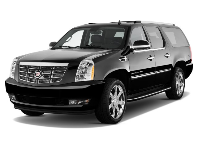 2012 Cadillac Escalade ESV 2WD 4-door Base Angular Front Exterior View