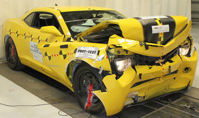 2012 Chevrolet Camaro scores perfect marks in latest round of NHTSA testing