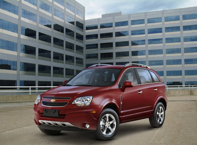 Beautiful 2012 Chevrolet Captiva Sport