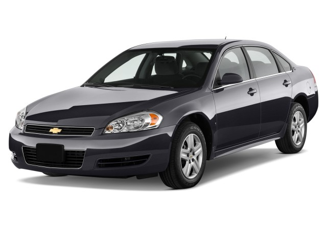 2012 Chevrolet Impala 4-door Sedan LS Retail Angular Front Exterior View