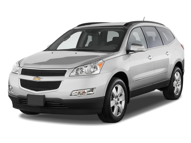 2012 Chevrolet Traverse FWD 4-door LT w/1LT Angular Front Exterior View