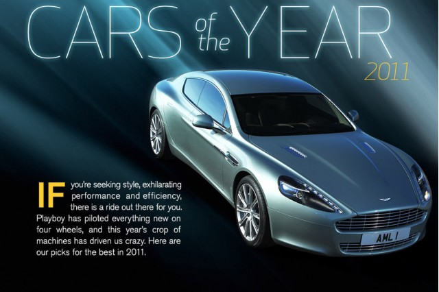 Playboy 2011 Car or the Year awards