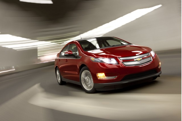 2012 Chevrolet Volt: it's more car than incendiary device.