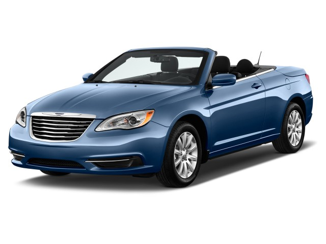 2012 Chrysler 200 2-door Convertible Touring Angular Front Exterior View