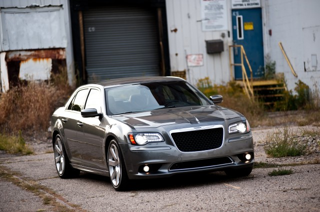 2012 Chrysler 300 SRT8. Photo by Alex Bellus