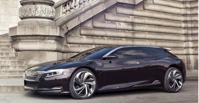 2012 Citroën Numéro 9 plug-in hybrid concept