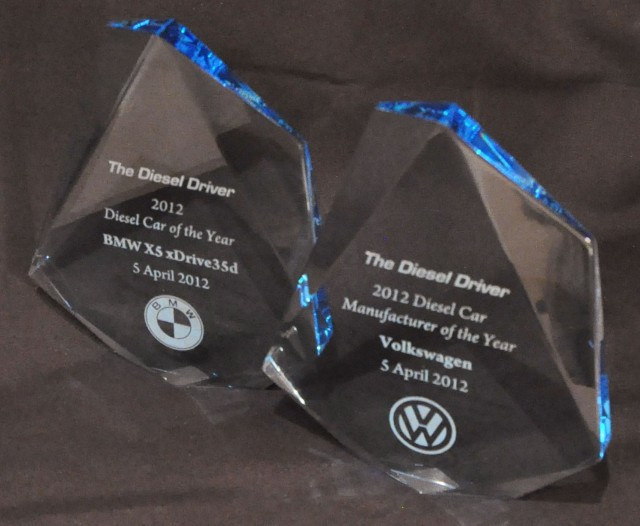 2012 Diesel Car of the Year and Diesel Car Manufacturer of the Year awards