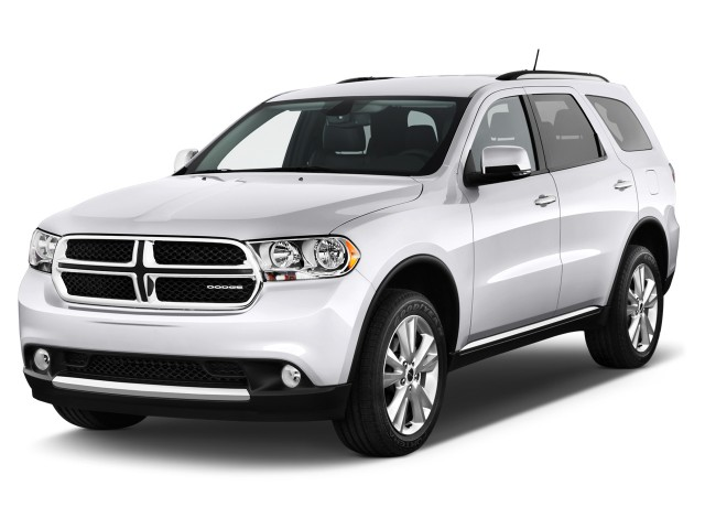 2012 Dodge Durango AWD 4-door Crew Angular Front Exterior View