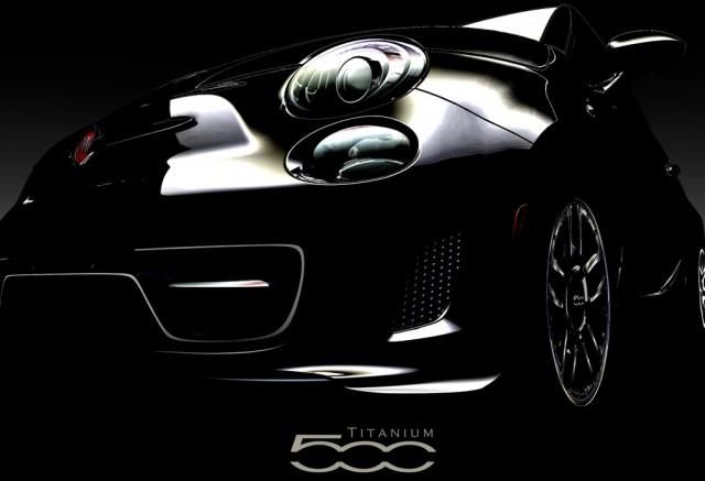 2012 Fiat 500 Titanium teaser