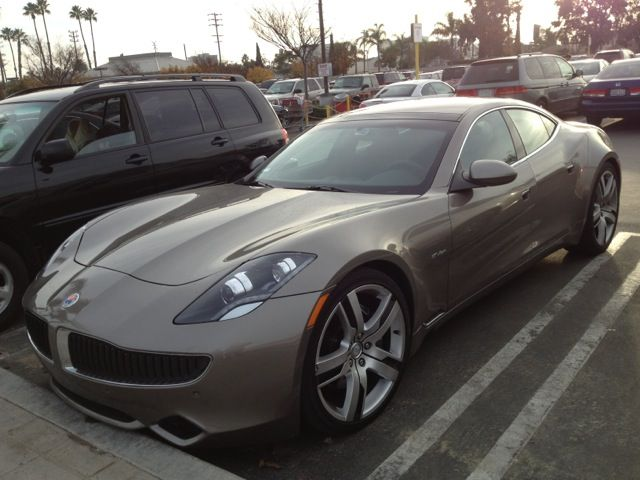 2012 Fisker Karma in Costco parking lot, Santa Monica, California [photo: Chris Williams]