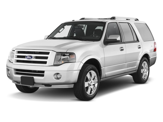2012 Ford Expedition 2WD 4-door Limited Angular Front Exterior View