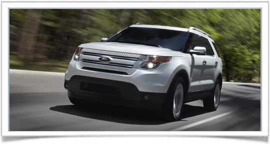 2012 Ford Explorer With EcoBoost Engine Priced From $29,990