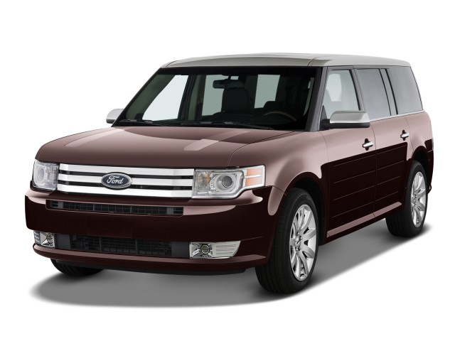 2012 Ford Flex 4-door Limited FWD Angular Front Exterior View