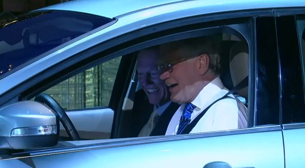 2012 Ford Focus Electric on Late Show with David Letterman