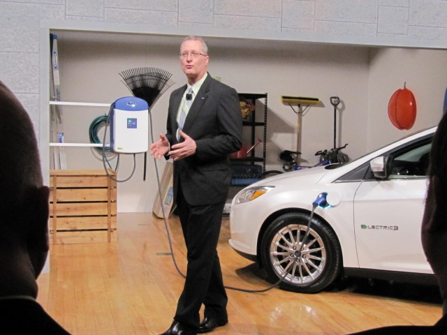 2012 Ford Focus Electric launch, New York City, January 2011 - Eric Kuehn