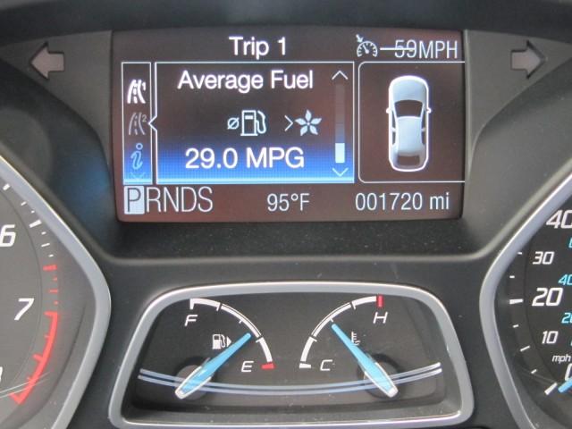 2012 Ford Focus Titanium hatchback, New York, July 2011