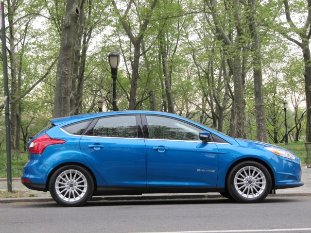 2017 Ford Focus Electric New York City April
