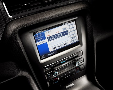 2012 Ford Mustang equipped with SYNC AppLink