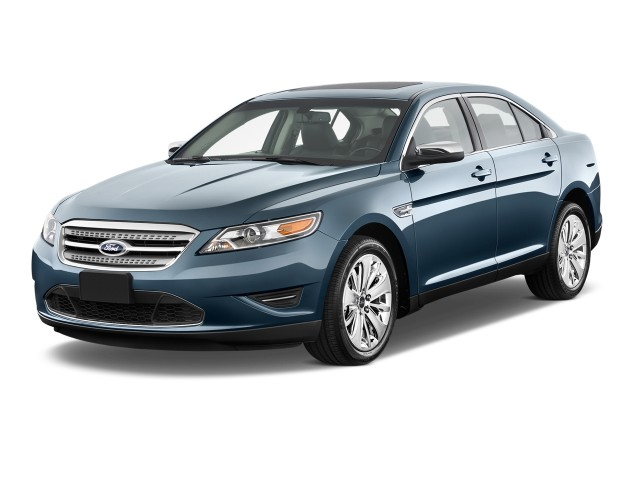 2012 Ford Taurus 4-door Sedan Limited FWD Angular Front Exterior View