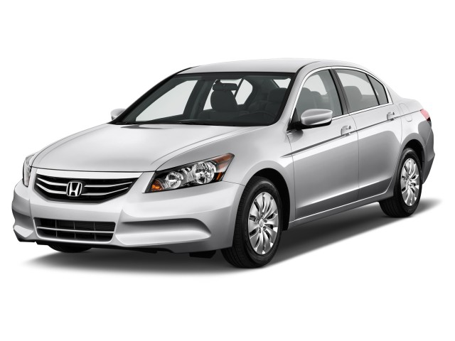 2012 Honda Accord Sedan 4-door I4 Auto LX Angular Front Exterior View