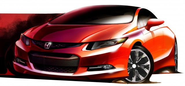 2012 Honda Civic Concept preview