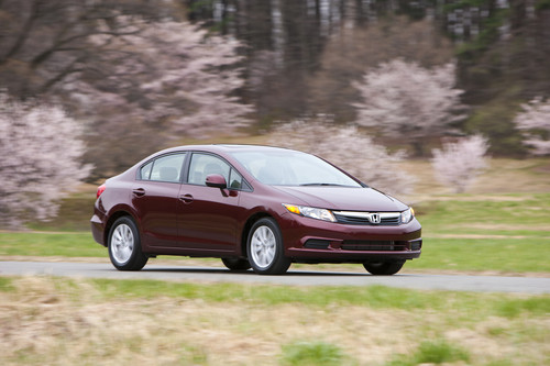 2012 Honda Civic Recalled For Steering Column Flaw