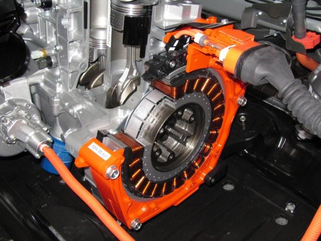2017 Honda Civic Hybrid Integrated Motor Ist Electric Cutaway